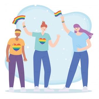 Lgbtq community illustration