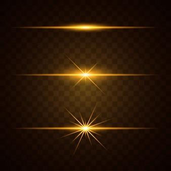 Lichteffekt eingestellt
