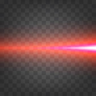 Lichteffekt horizontal
