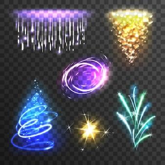 Lichteffekte eingestellt