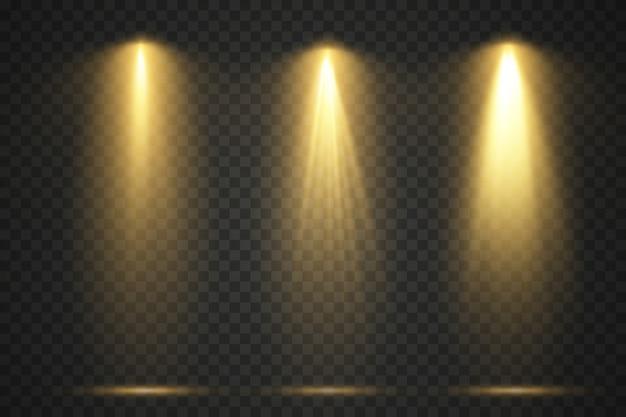 Lichtquellen, konzertbeleuchtung, bühnenprojektor.