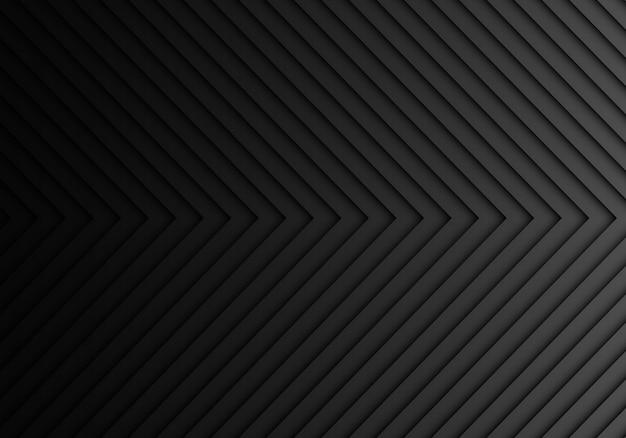 Lichtrichtungs-hintergrundbeschaffenheit des dunklen grauen pfeilmusters.