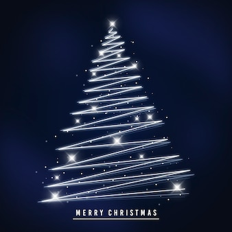 Lichtspur weihnachtsbaum