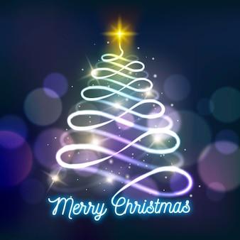 Lichtspur-weihnachtsbaum