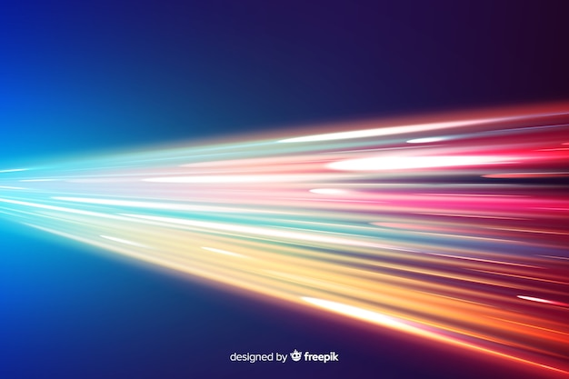 Lichtspurhintergrund