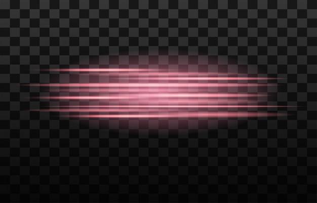 Lichtstreifen schneller effekt. abstrakte hintergrundgeschwindigkeit.