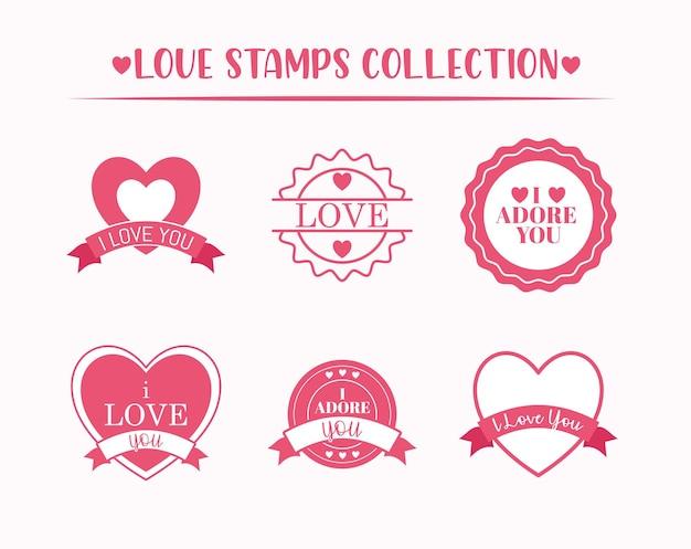 Liebe briefmarkensammlung