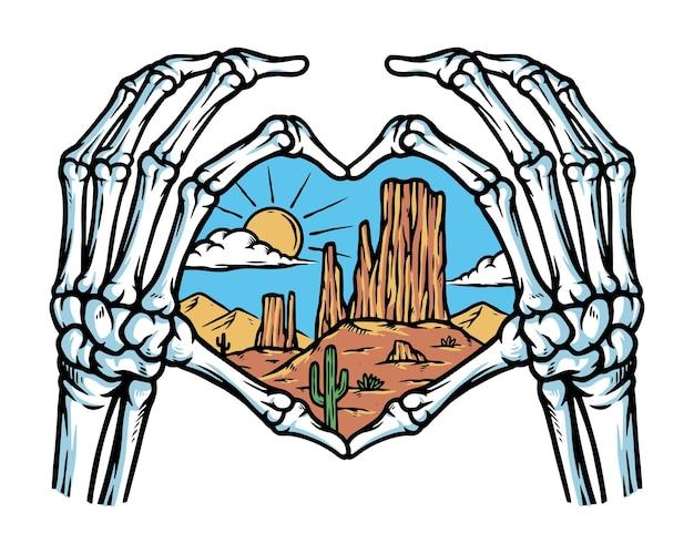 Liebe die wüste