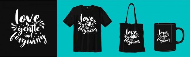 Liebe ist sanft und verzeihend. zitate über die liebe mit vorlage zum drucken