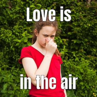 Liebe liegt in der luft meme
