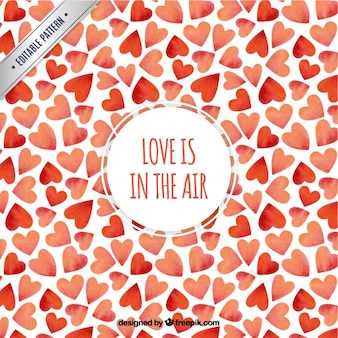 Liebe liegt in der luft muster