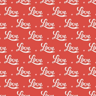 Liebe nahtlose muster