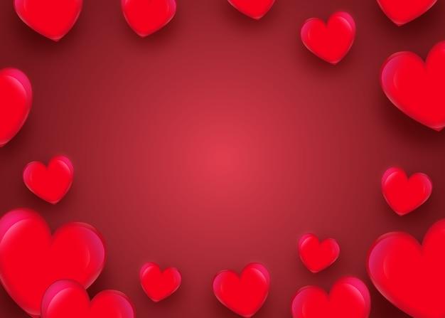 Liebe oder valentinstag hintergrund