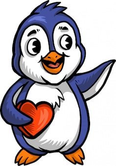 Liebe pinguin