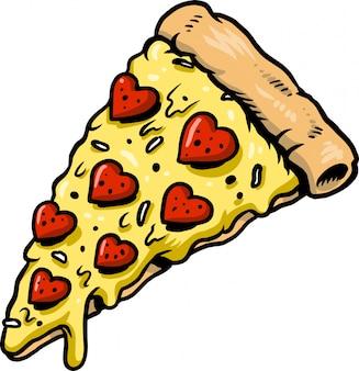 Liebe pizza