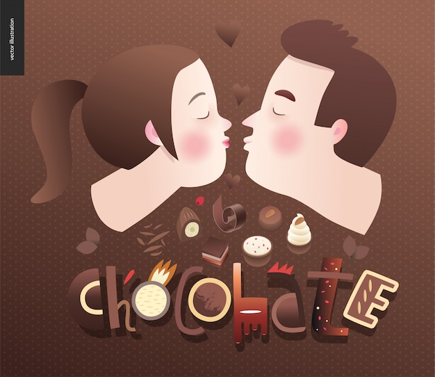 Liebe schokolade