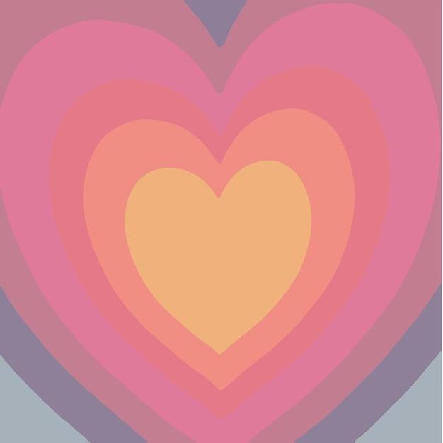 Liebe symbol hintergrund valentinsgruß vektor illustration