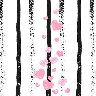 Liebe textur. rosa party-druck. rose dekorative broschüre. rose glitzerndes magazin. handgezeichnete malerei. goldene mütter laden ein. urlaub-rahmen. goldene liebestextur
