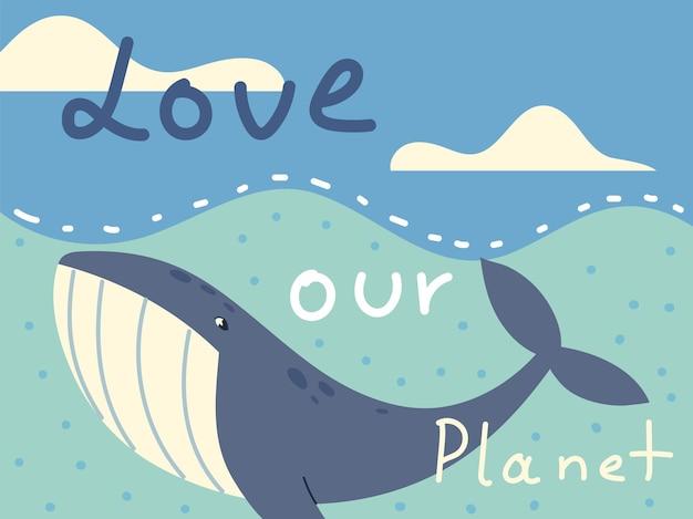 Liebe unser planetenplakat
