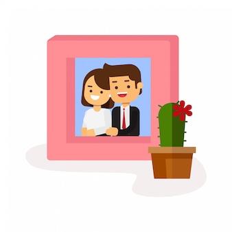 Liebe valentine day und liebevoller mann und frau fotografie