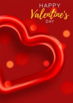 Liebesgeschichte banner. festlich romantisch. liebesplakat speziell. werbebroschüre zum valentinstag.