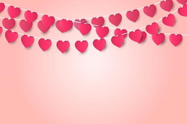 Liebeskonzept-grußkarte des valentinstags.