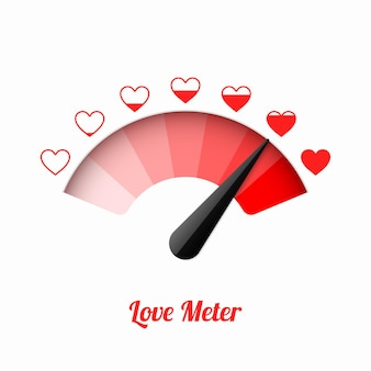 Liebesmesser, valentinstagskarten-gestaltungselement