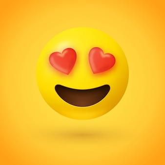 Liebevolle augen emoji