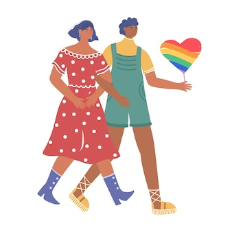 Liebevolles paar lesben