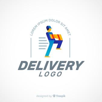 Lieferung logo vorlage