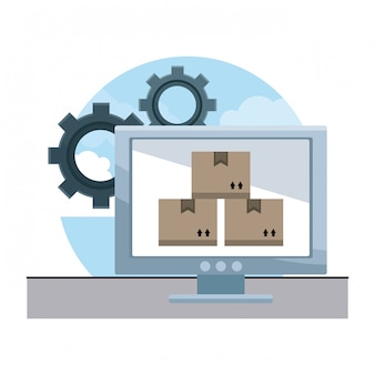 Lieferung und logistik