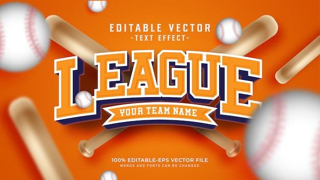 Liga-text-effekt