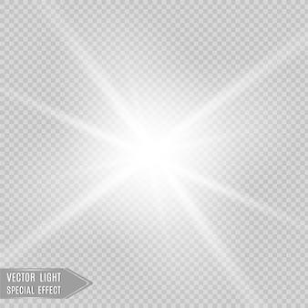 Light flare spezialeffekt.
