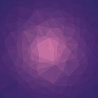 Lila abstrakt polygonal mosaik-hintergrund