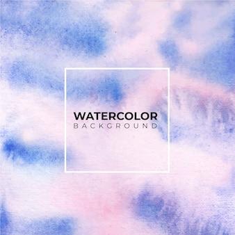 Lila abstrakter aquarellhintergrund, handfarbe. farbspritzer auf dem papier
