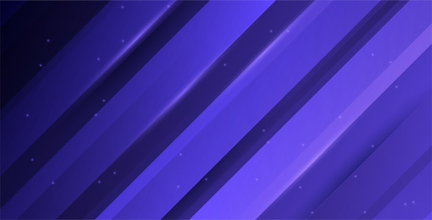 Lila abstrakter farbverlaufshintergrund mit minimalen geometrischen formen