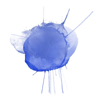 Lila aquarell splatter