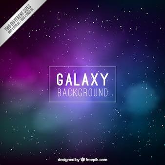 Lila galaxie hintergrund