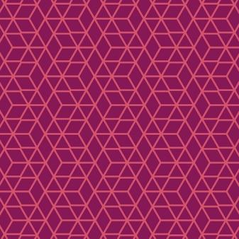 Lila muster polygon hintergrund