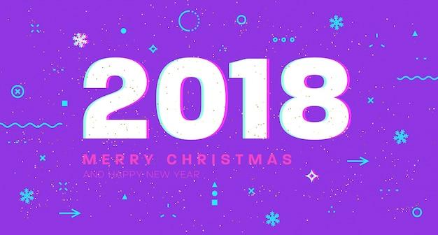 Lila neujahr hintergrund