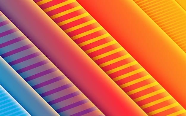 Lila schablone der abstrakten steigung mit blauem tapetendesignhintergrund