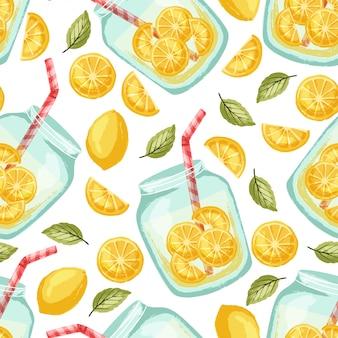 Limonadenmuster