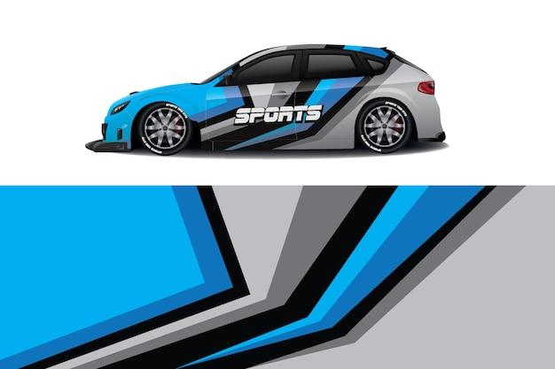Limousine auto aufkleber wrap design
