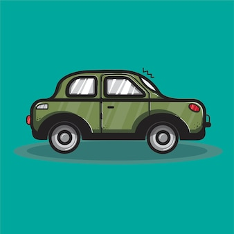 Limousine auto transport grafik illustration