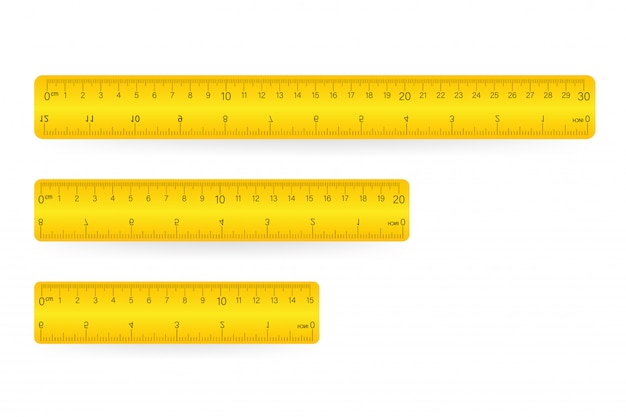 Lineal, isoliertes symbolpiktogramm