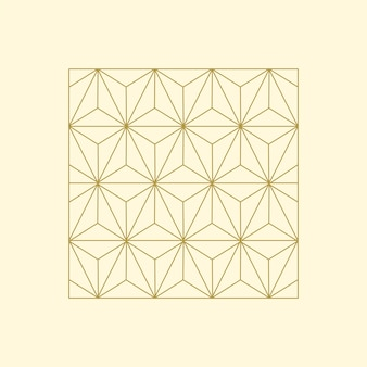 Lineare darstellung eines quadratischen blocks
