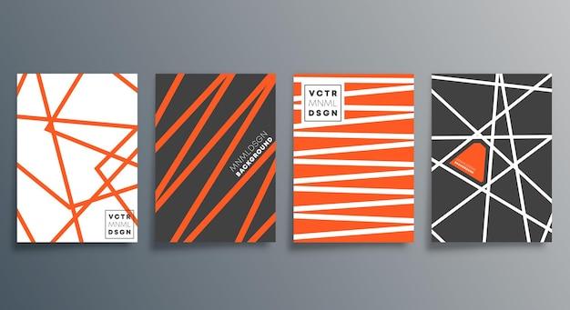 Lineares minimalistisches design für karten, poster, flyer, broschürencover, hintergrund, tapeten, typografie oder andere druckprodukte. vektor-illustration.