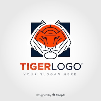 Lineares tiger-logo