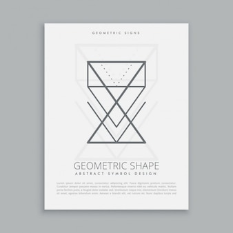 Lineart geometrische formen