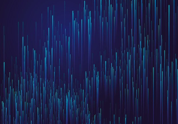 Linien aus leuchtenden hintergründen